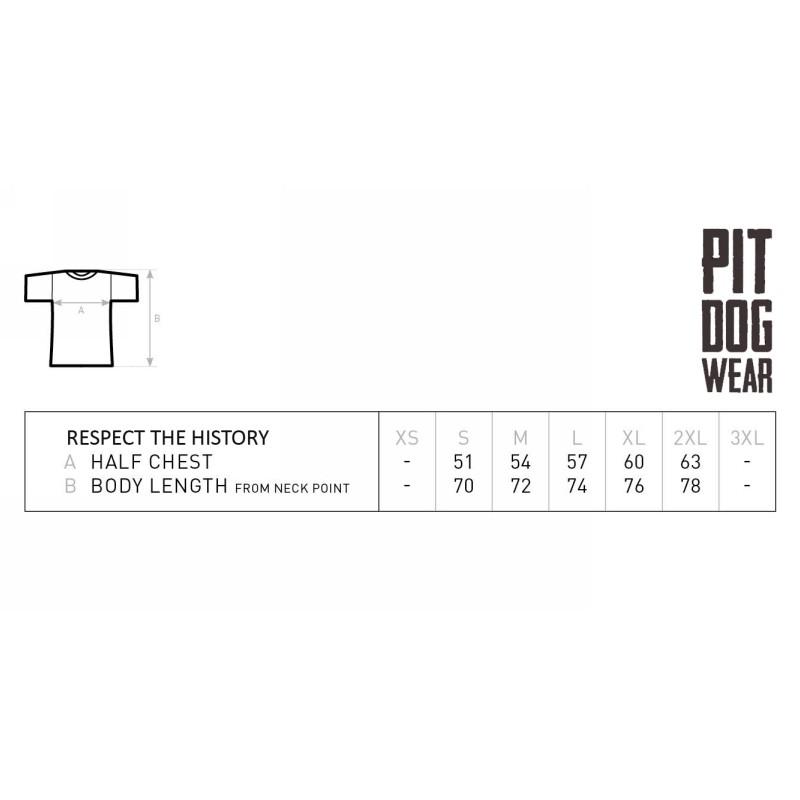 Tričko Pit Dog Wear - Respect the History - pánske