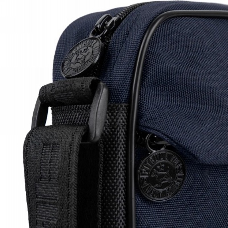 Shoulder bag PITBULL WEST COAST - CIRCAL DOG, navy