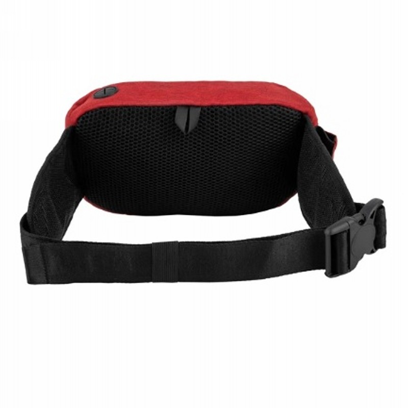 Waist bag PITBULL WEST COAST - PITBULL R, red