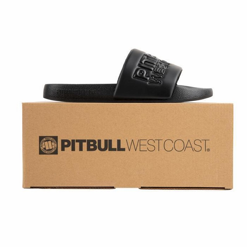 Unisex šľapky PITBULL WEST COAST - PBWC, black