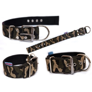 Obojok Passion Dogs - Military - 5cm