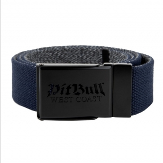 Opasok PITBULL WEST COAST - RETRO LOGO, dark navy